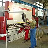 Abkantpresse 160Mp 4m für Aluminium- und Stahlverarbeitung