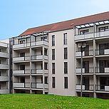 Betonbalkon für Mehrfamilienhäuser