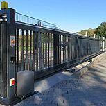 Freitagendes Sicherheitstor SF-ALUtec 9430x1500 mm