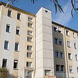 Aufzugschacht aus Stahlbeton für Wohngebäude