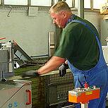 Zuschnittmaschine für Aluminium und Stahl