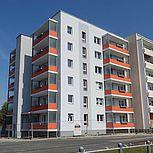 Laubengang für mehrgeschossiges Wohngebäude